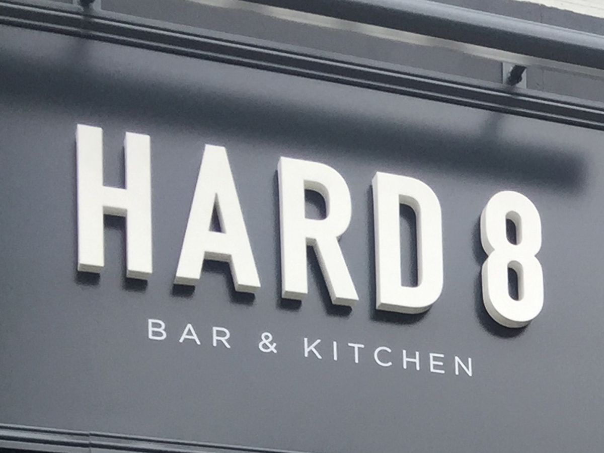 Bar restaurant logo signage branding