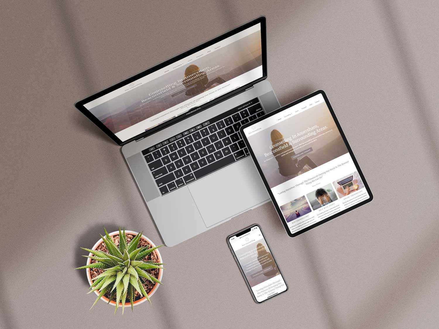 Star Counselling responsive web design