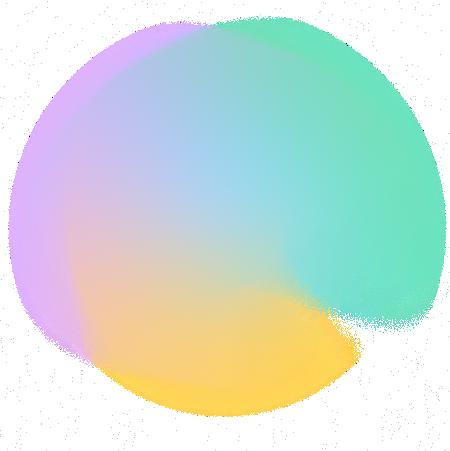 Multi-colour circle