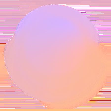 Orange and purple circle