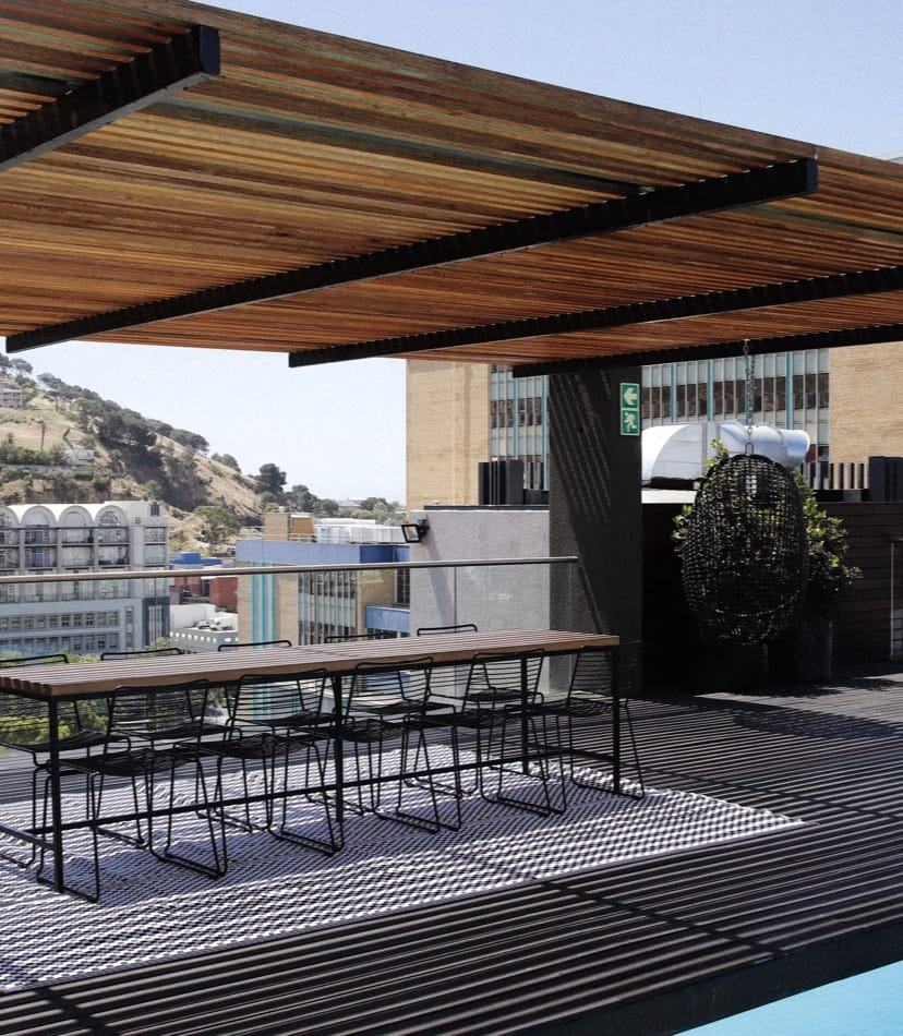 Rooftop bar venue for hire