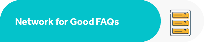 Here are a few FAQs about Network for Good and Facebook.