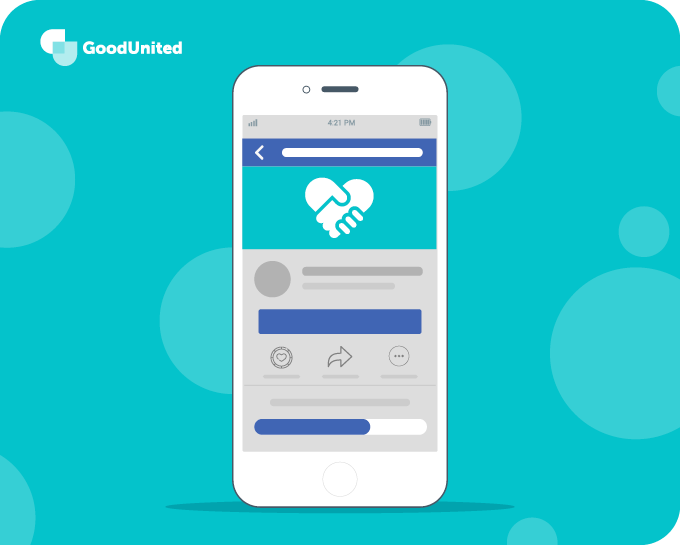 Facebook is a great platform for virtual peer-to-peer fundraisers.
