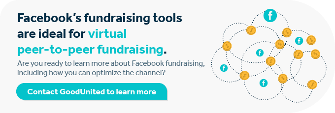Contact us today to improve your virtual peer-to-peer fundraising practices.