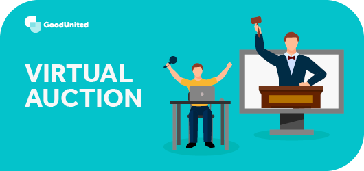 A virtual auction is a great virtual fundraiser.