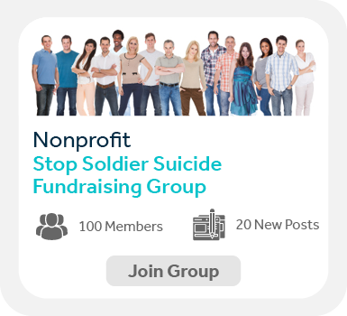 Use Facebook groups to create communities when peer-to-peer fundraising.
