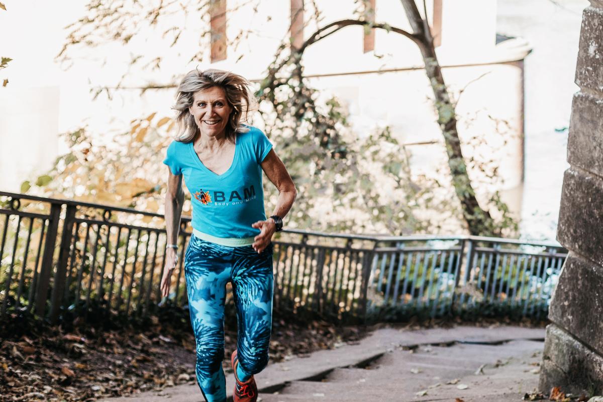 Marion Clignet running