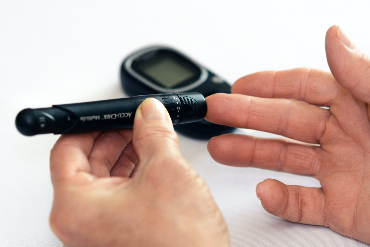 Checking sugar levels for diabetes and epilepsy link