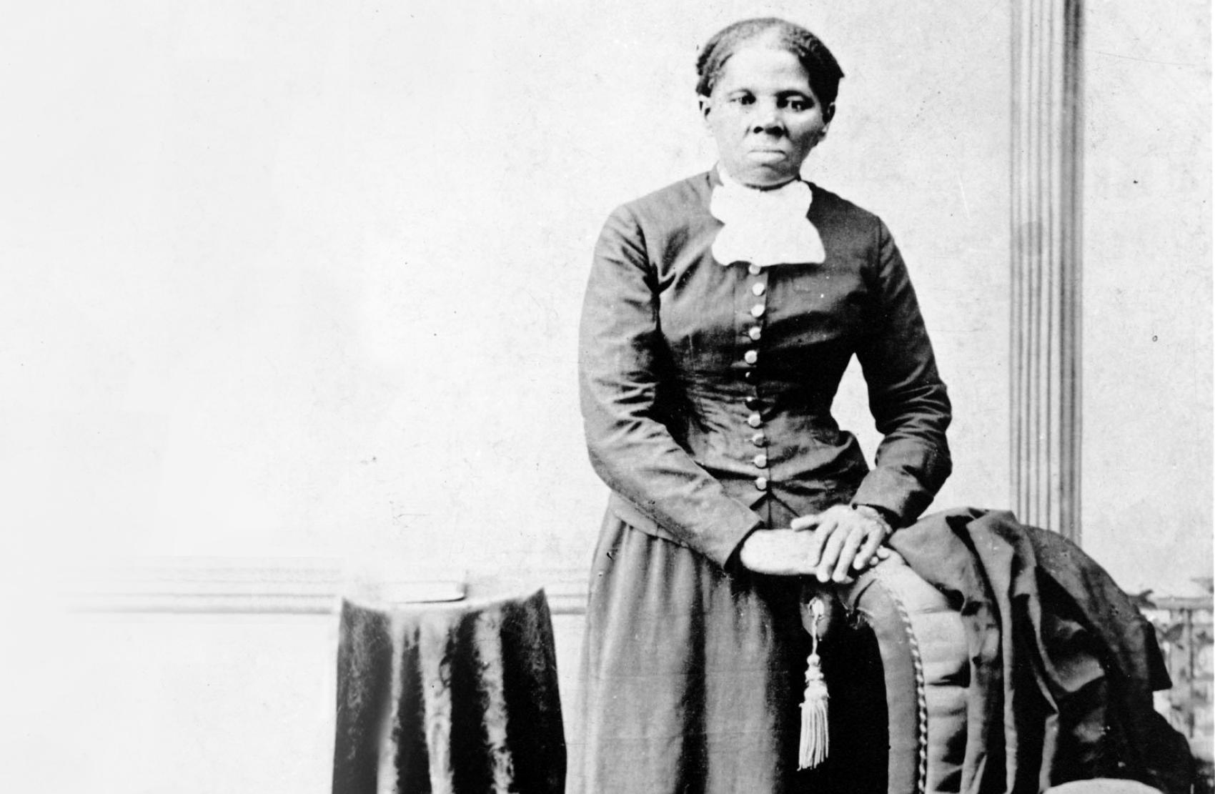 Portrait photo of Harriet Tubman who had seizures