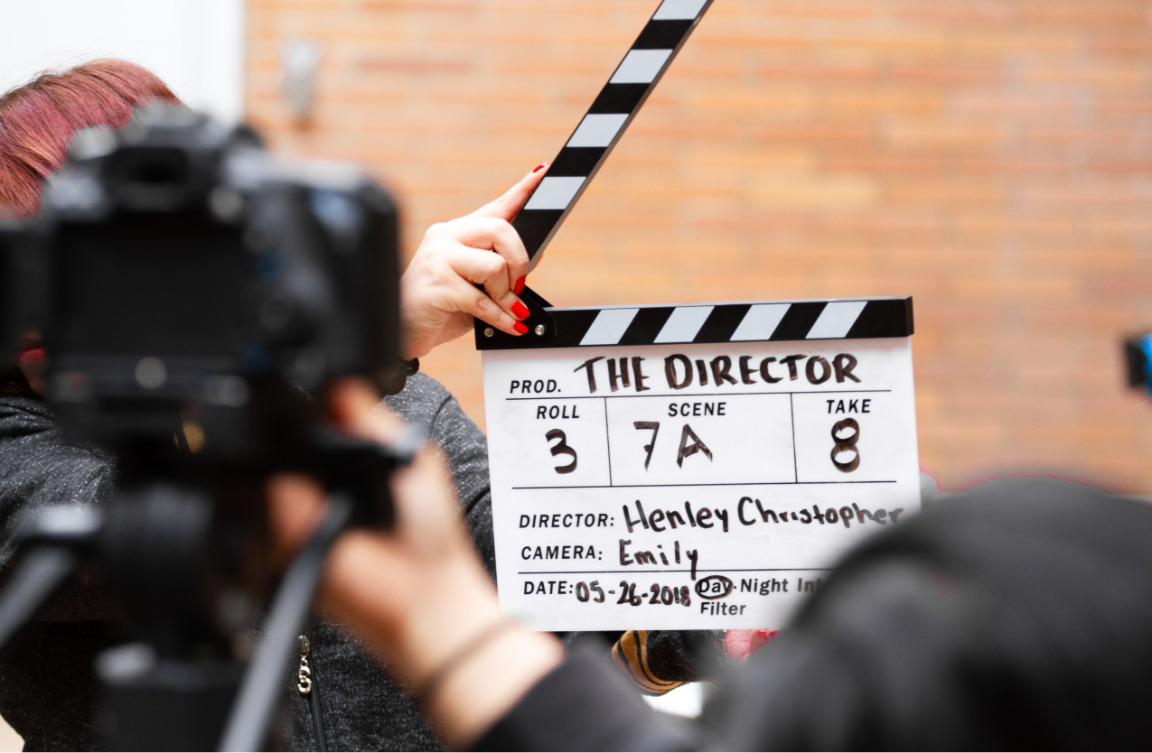 A director working with famous actors living with epilepsy