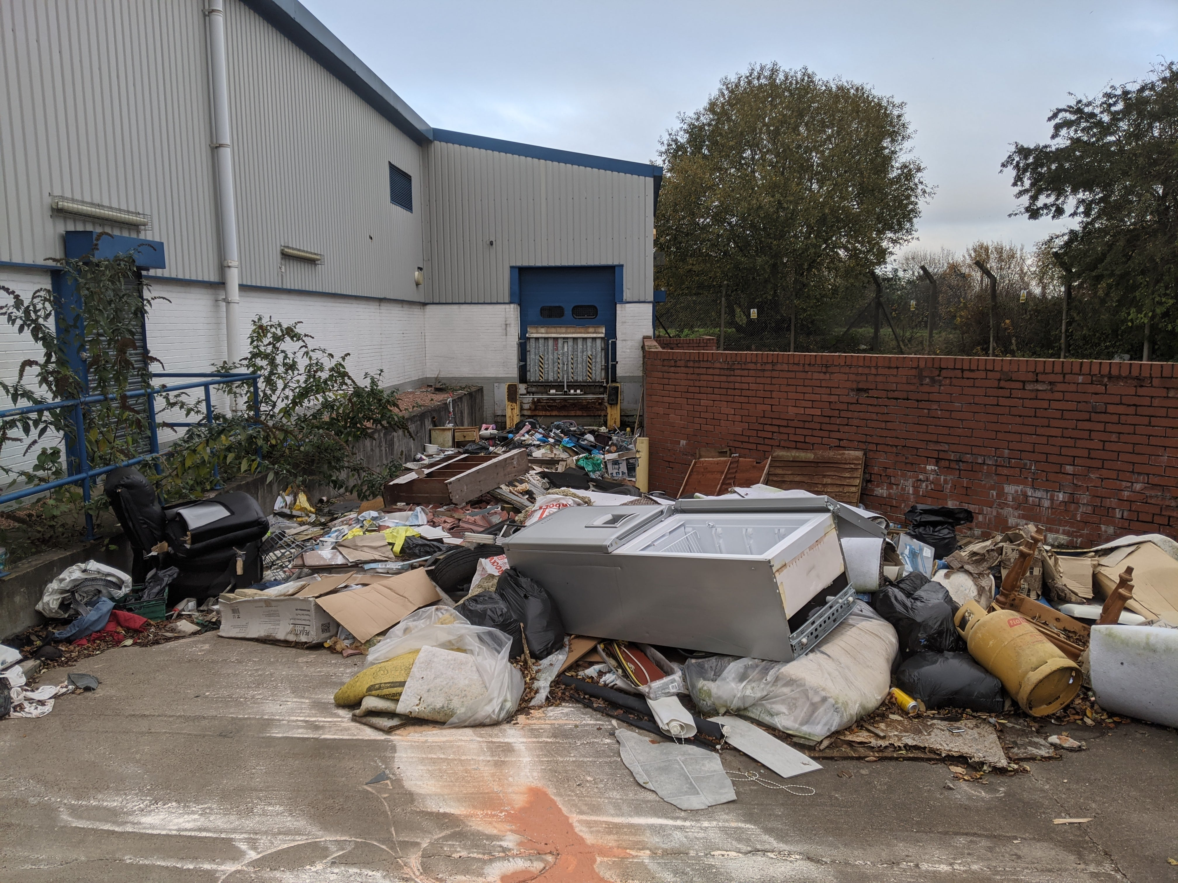 Clydebank Fly Tipping