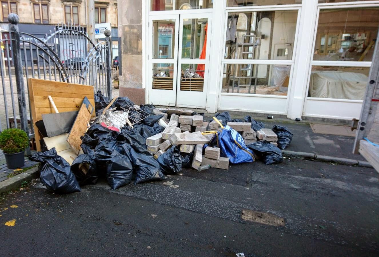 Glasgow Restaurant Refurbishment Clearance