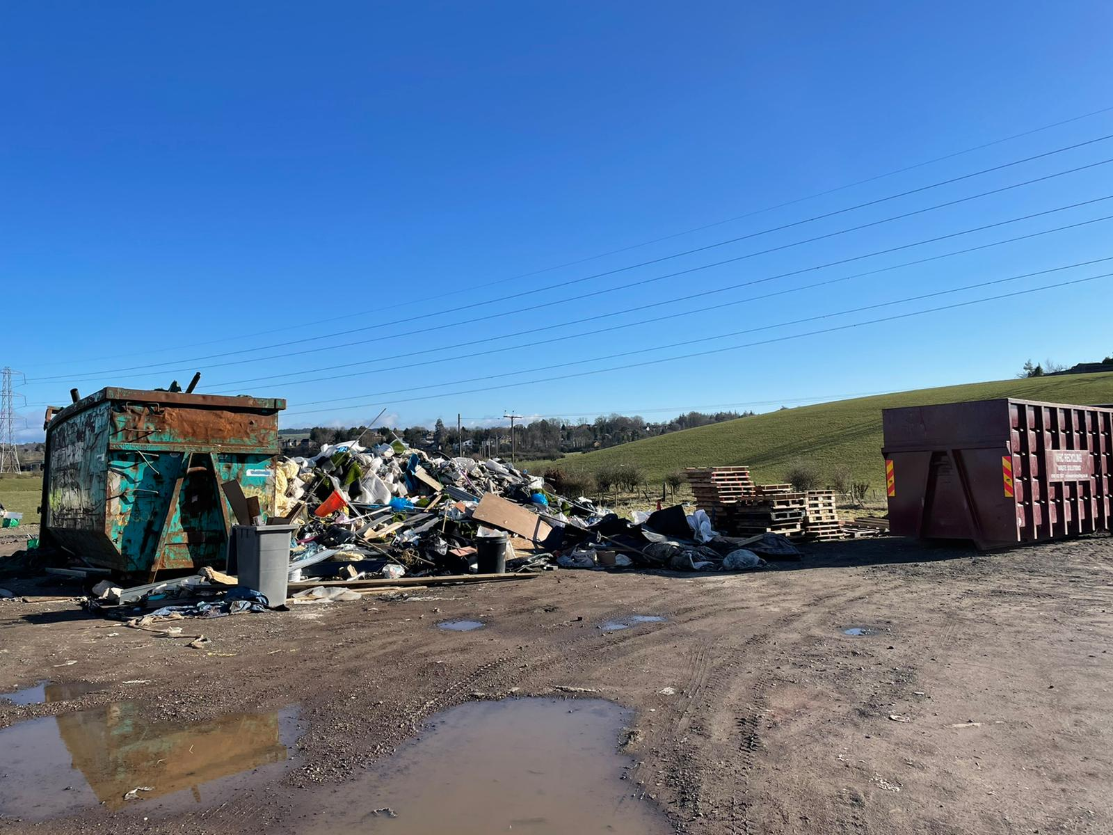 East Renfrewshire Fly Tipping