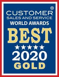 Customer Sales and Service Award logo