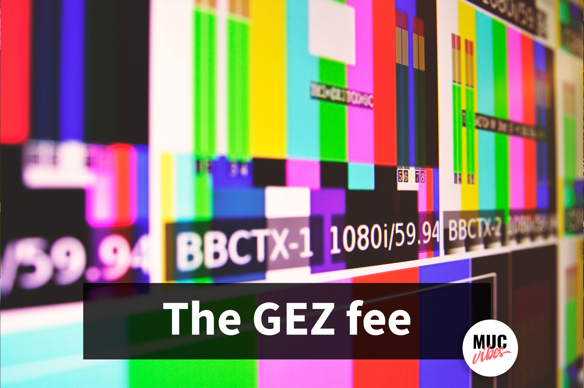 What is the GEZ fee in Germany?
