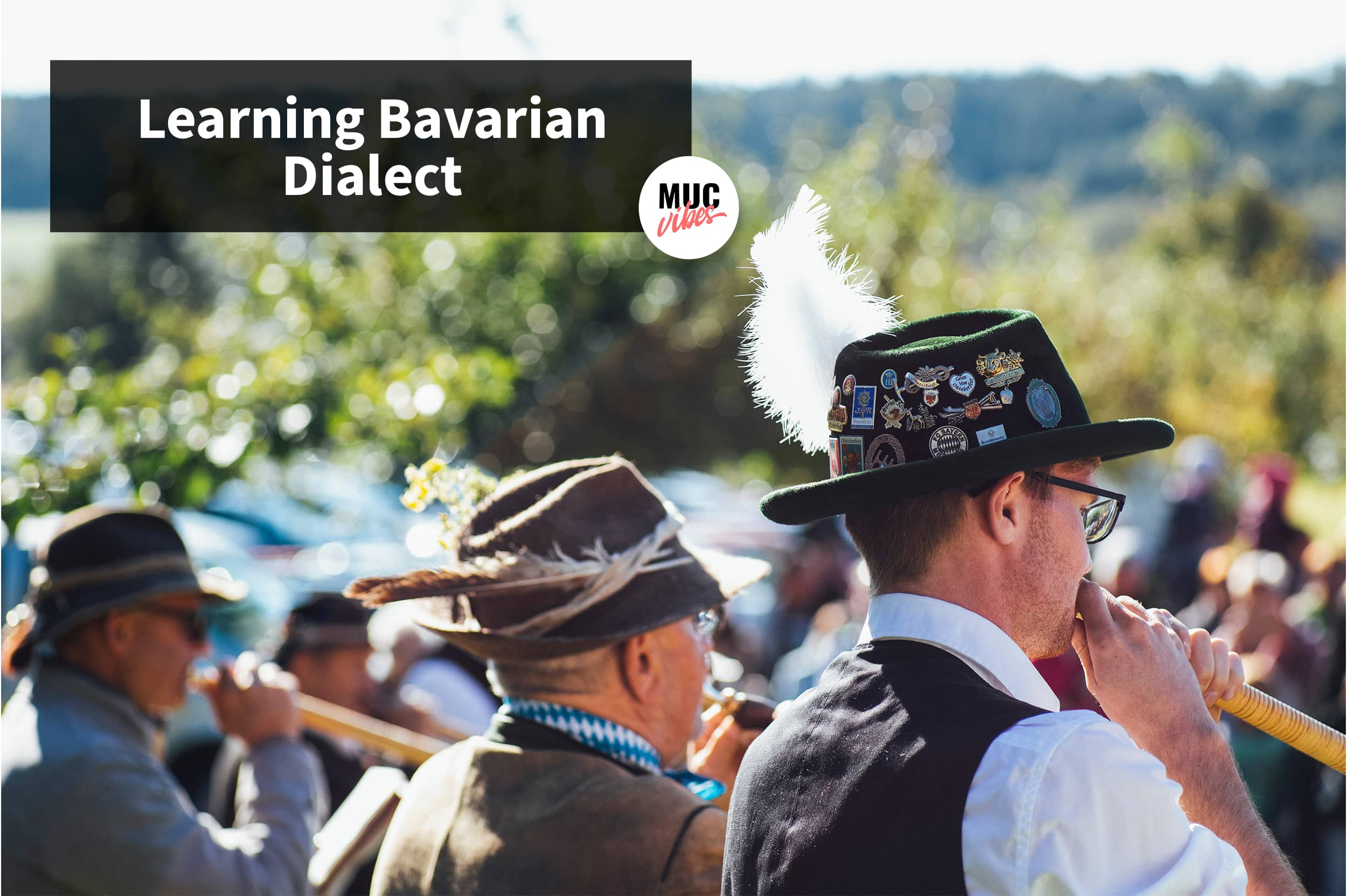 Learning Bavarian dialect