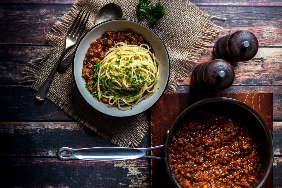 Espagueti Boloñesa Healthy