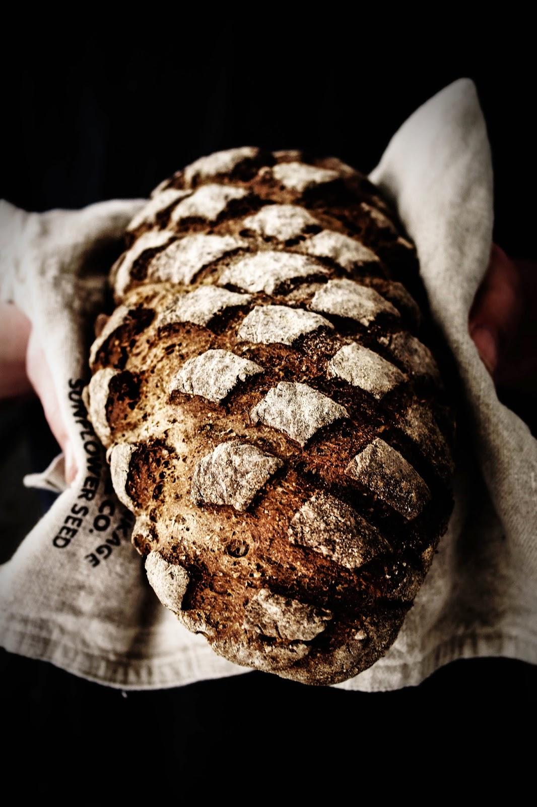 Pan de Centeno con Comino e Hinojo