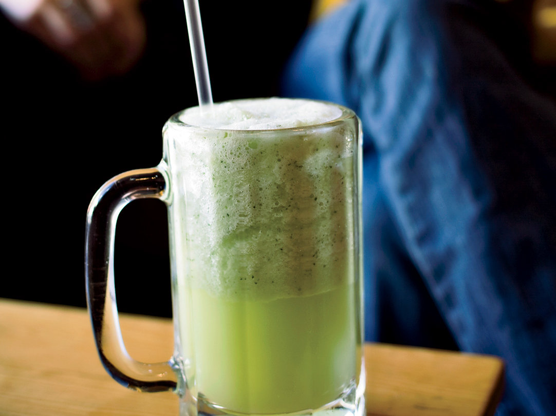 Frappé de Pepino con Limón