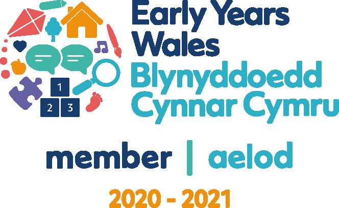Early Years Wales logo