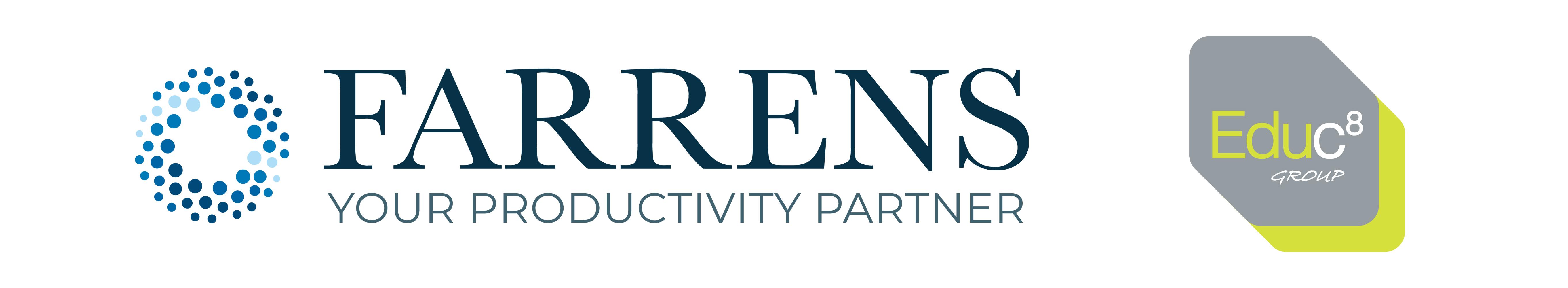 Farrens and Educ8 company logos
