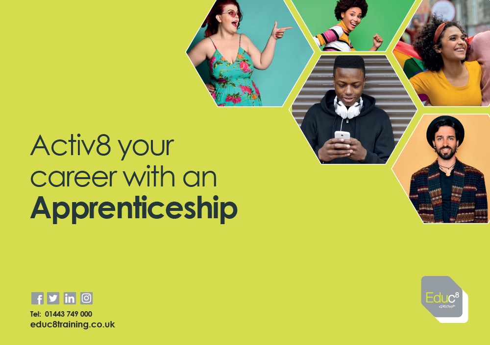 Guide to Apprenticeships brochure cover