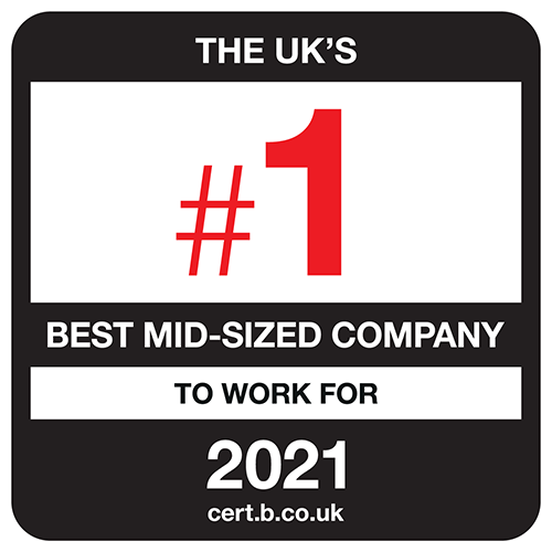 UK's Best Mid-sized company to work for