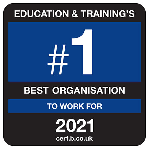 UK's Best Education and Training Organisation to work for
