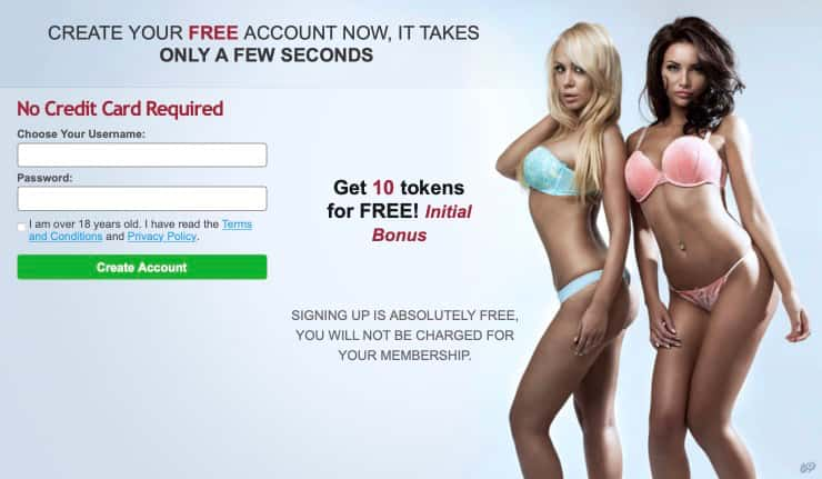 BongaCams Free Register