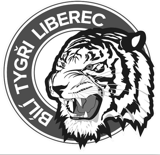 Offical Logo of Bílý Tygři Liberec