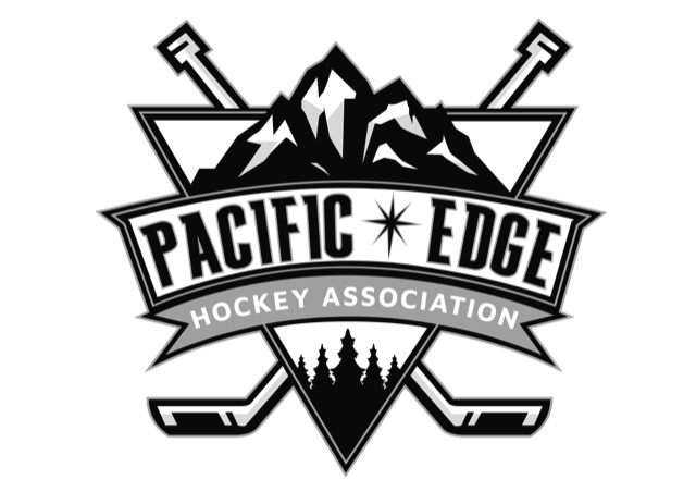 the pacific edge hockey logo
