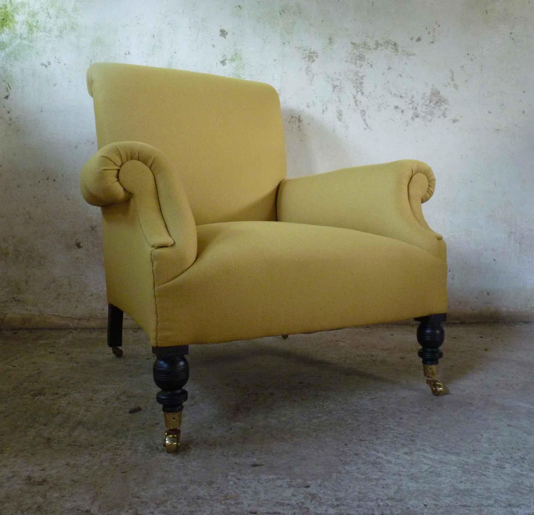 Early 20th century easy armchair