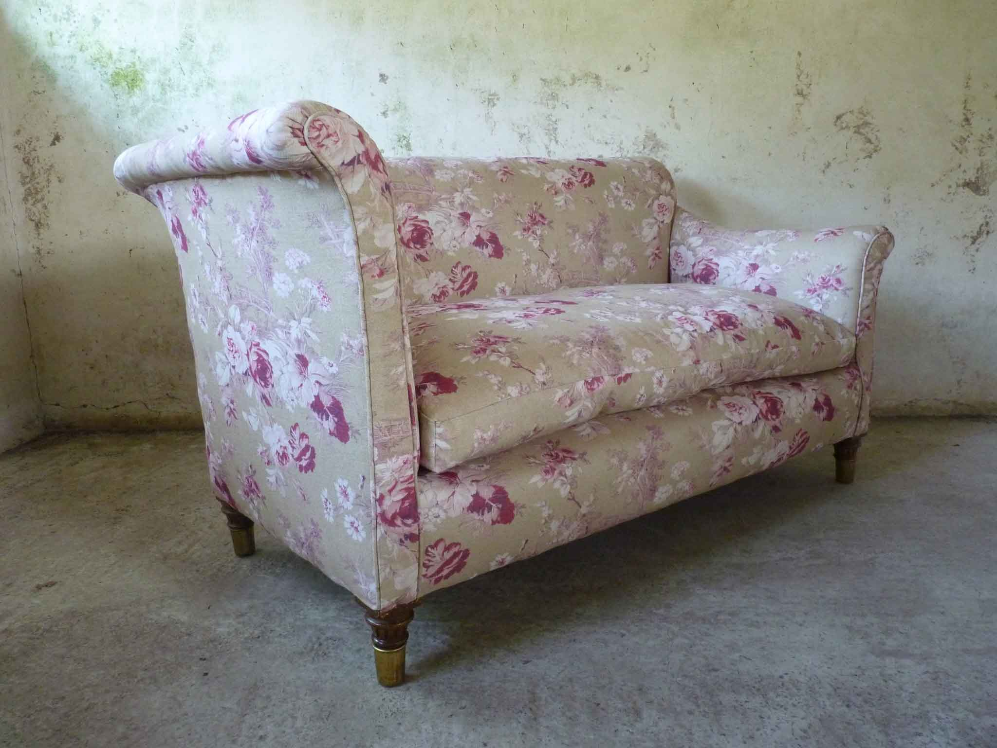 Edwardian day bed settee