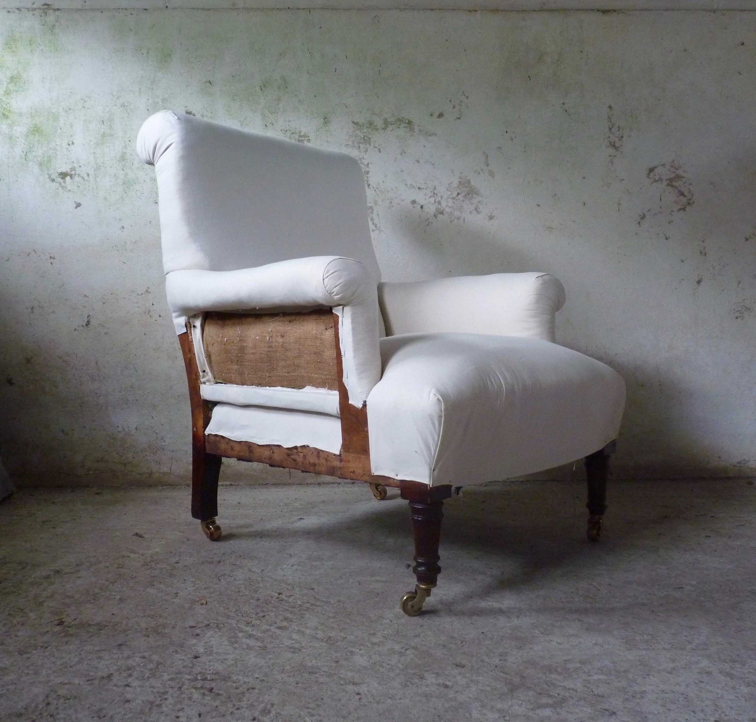 shoolbred style armchair