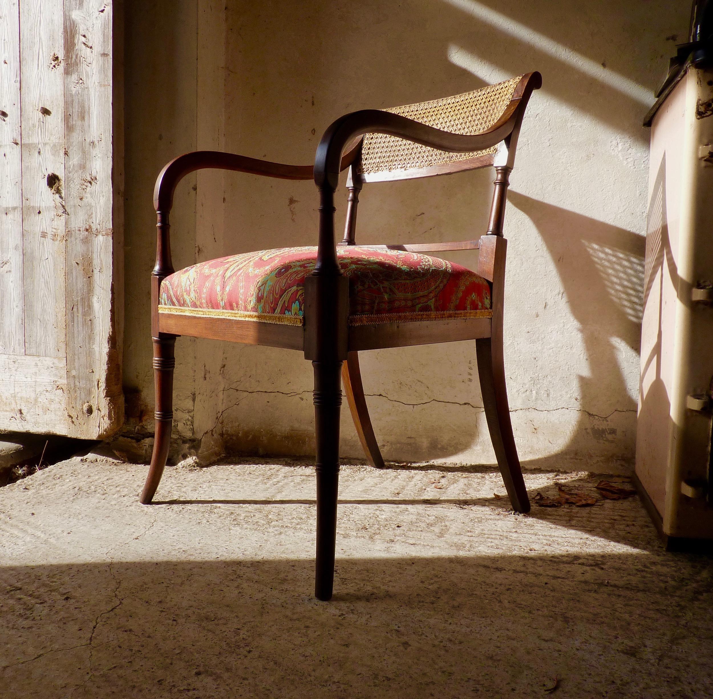 Regency elbow chair by John Gee