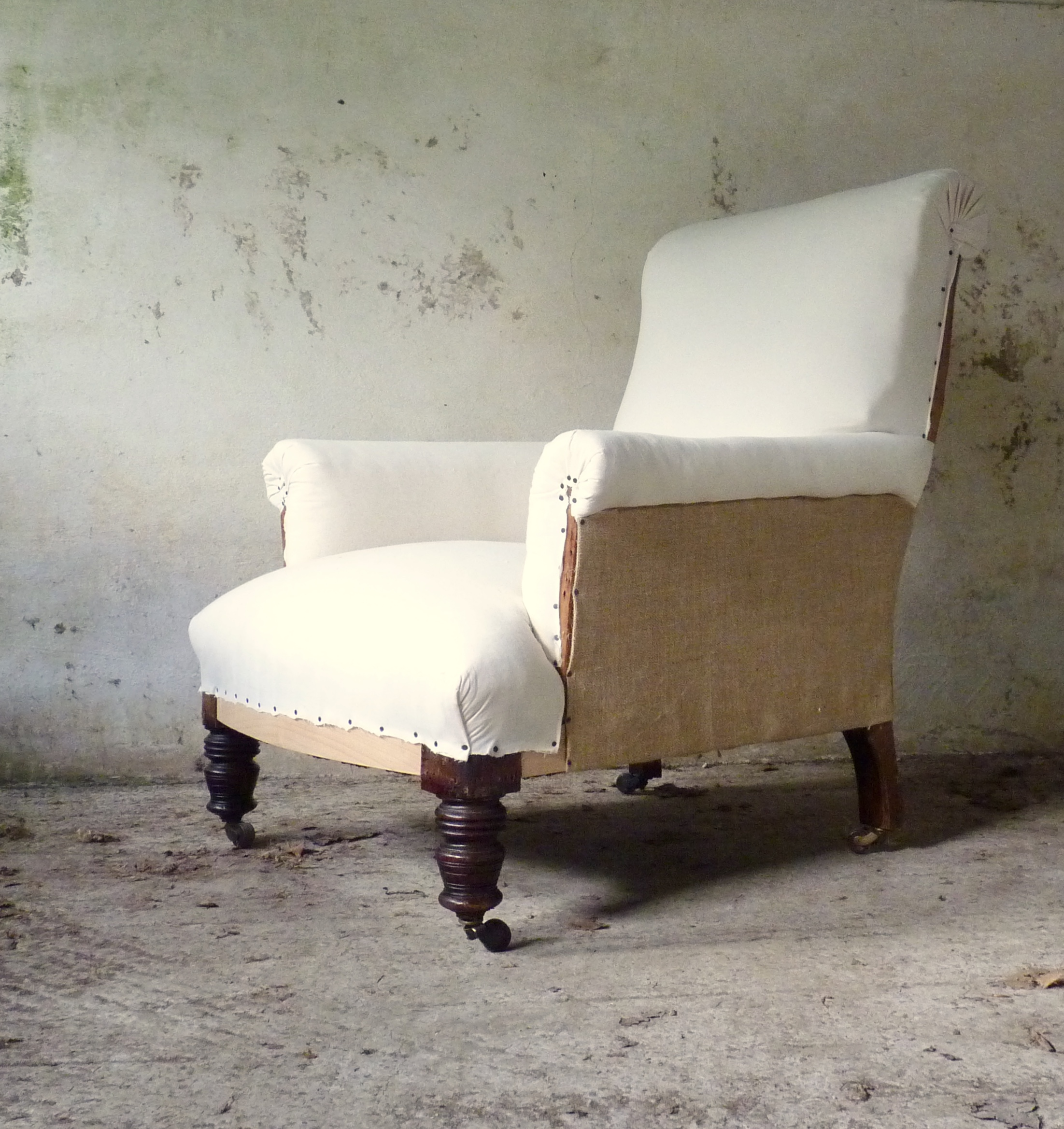 country house victorian armchair