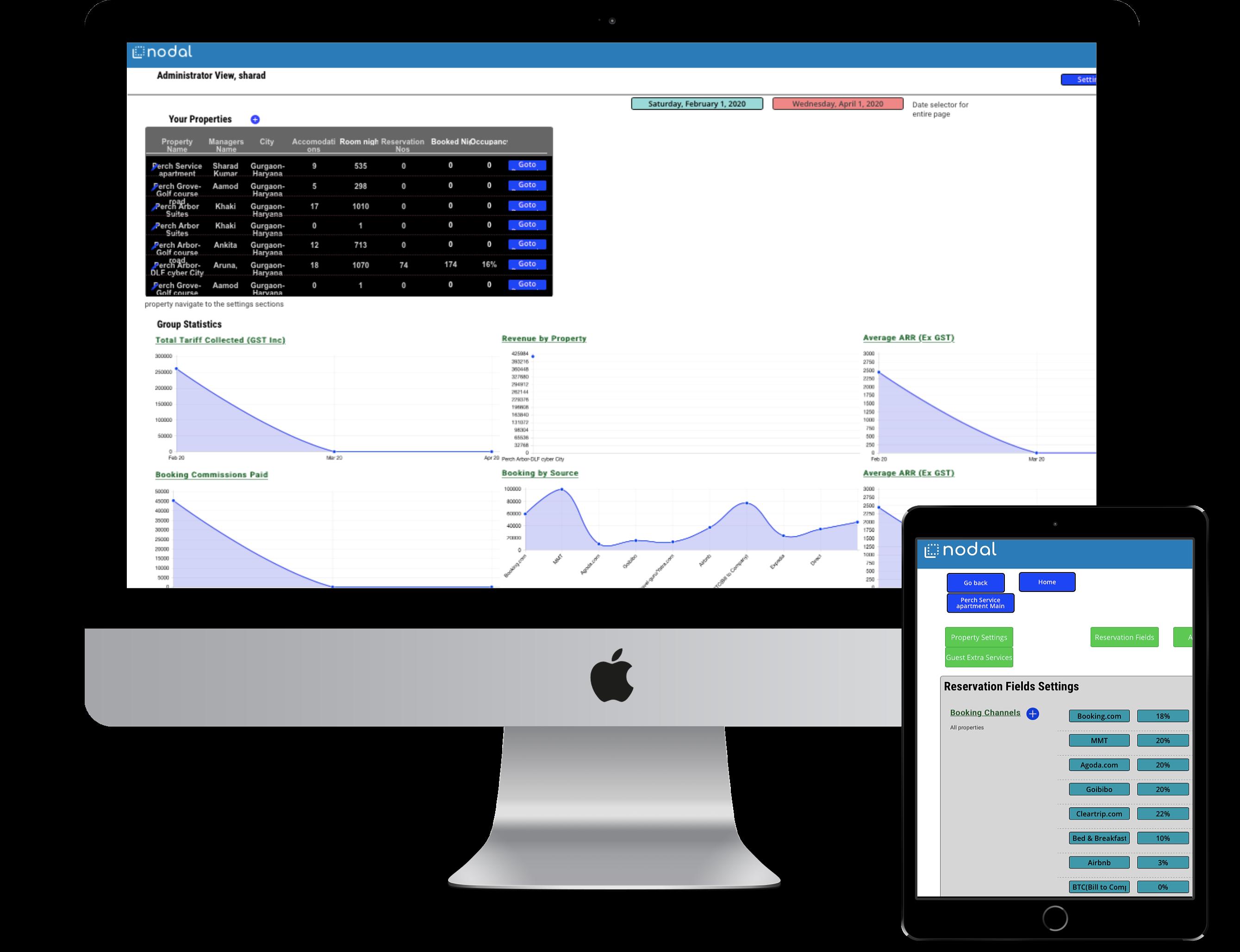 Fast, Dynamic App-like Mobile Interface