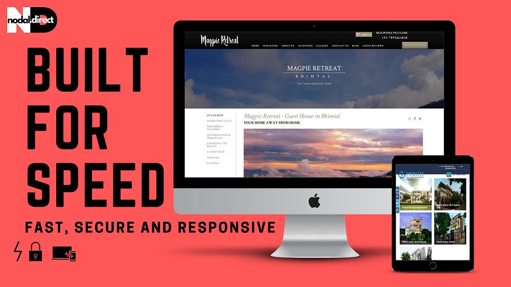 Website Speed test banner