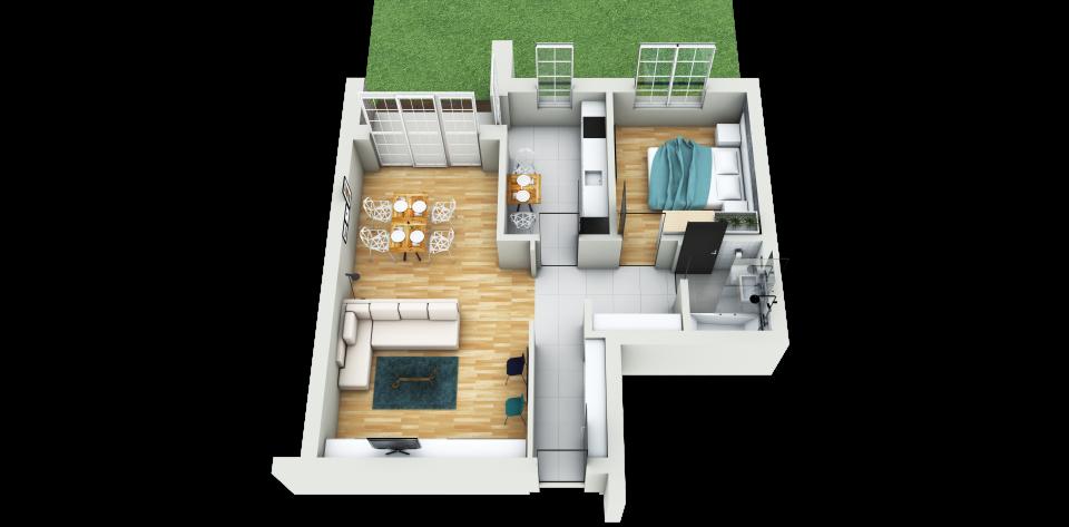 apartament doua camere brasov