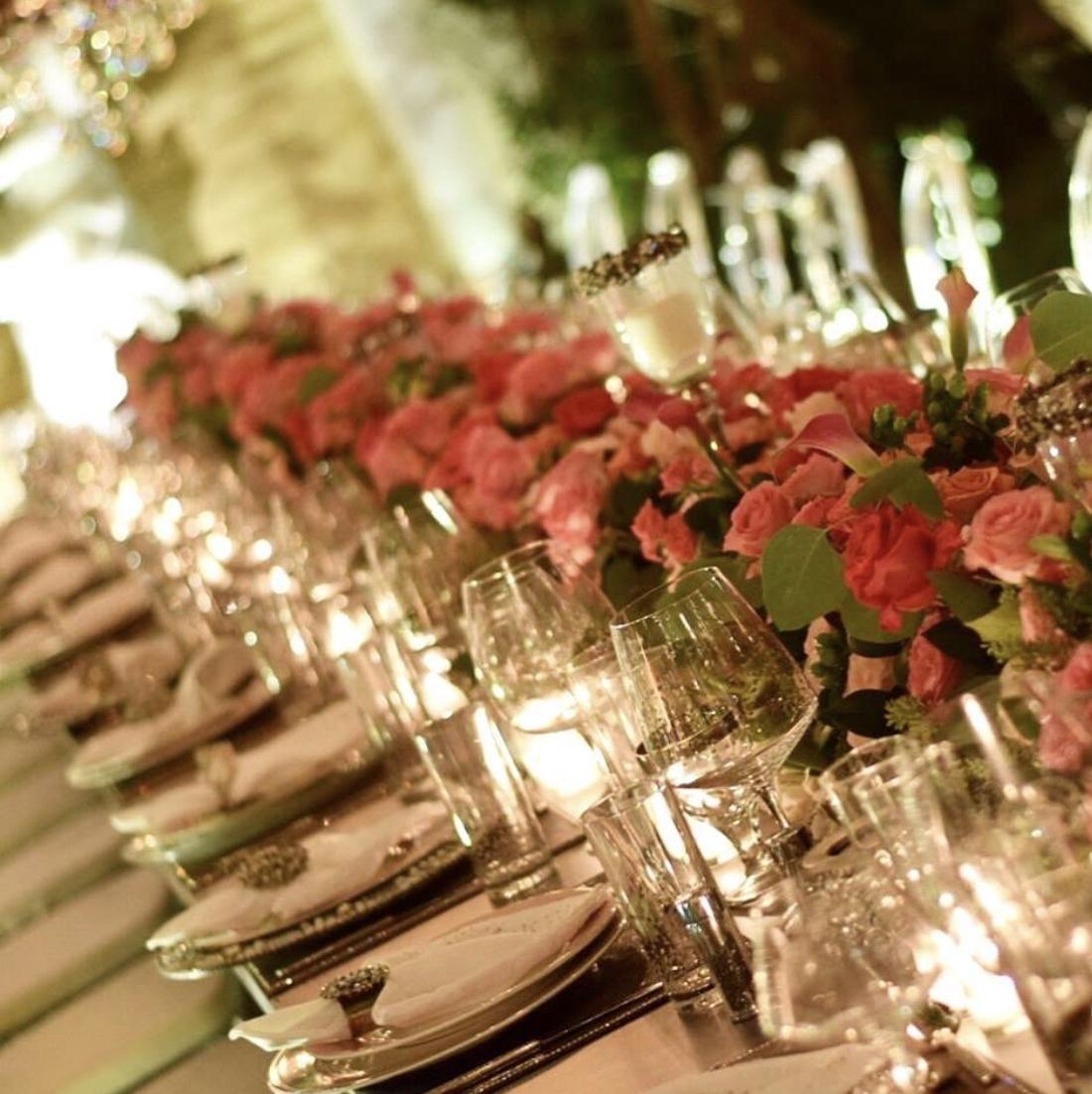 eventos decoracion floral flores mesa madrid