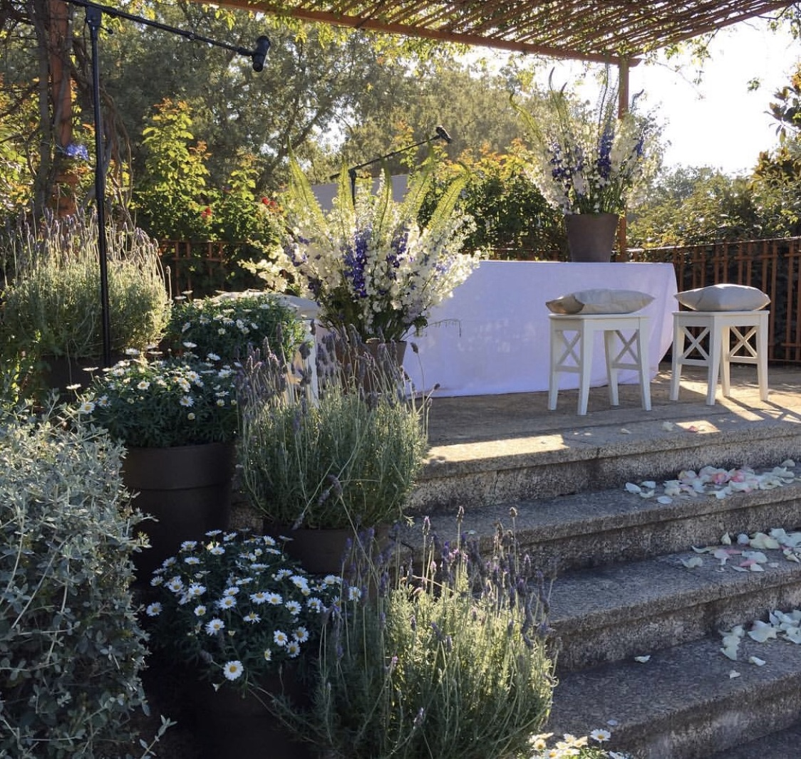 boda España decoración floral