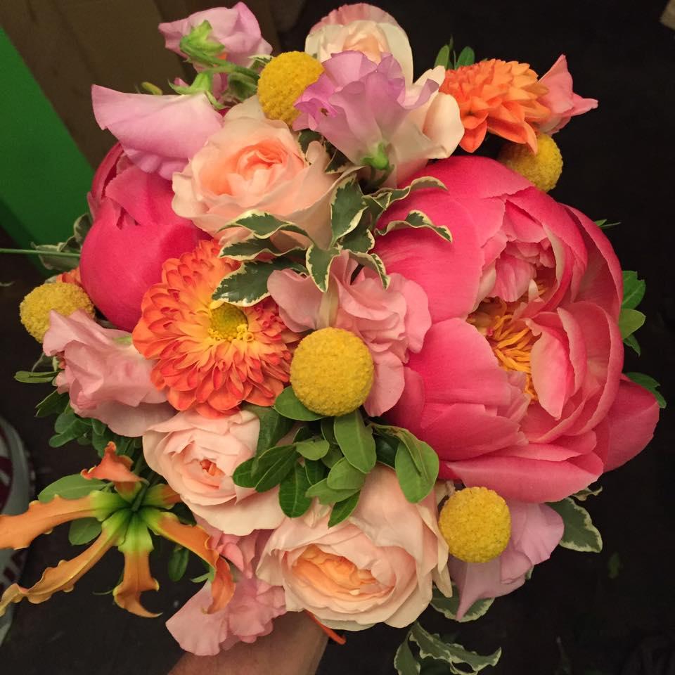 ramos de novia flores boda madrid