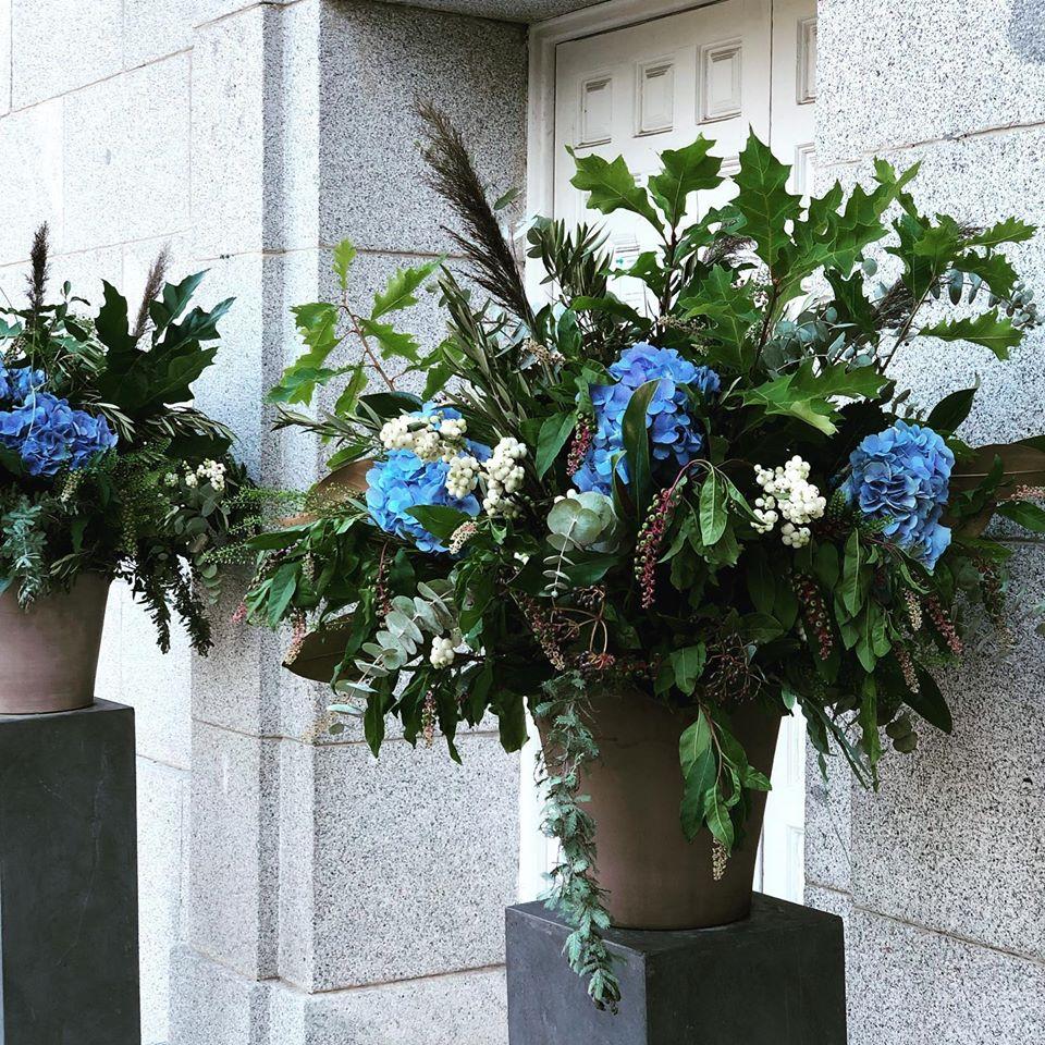 boda flores decoración