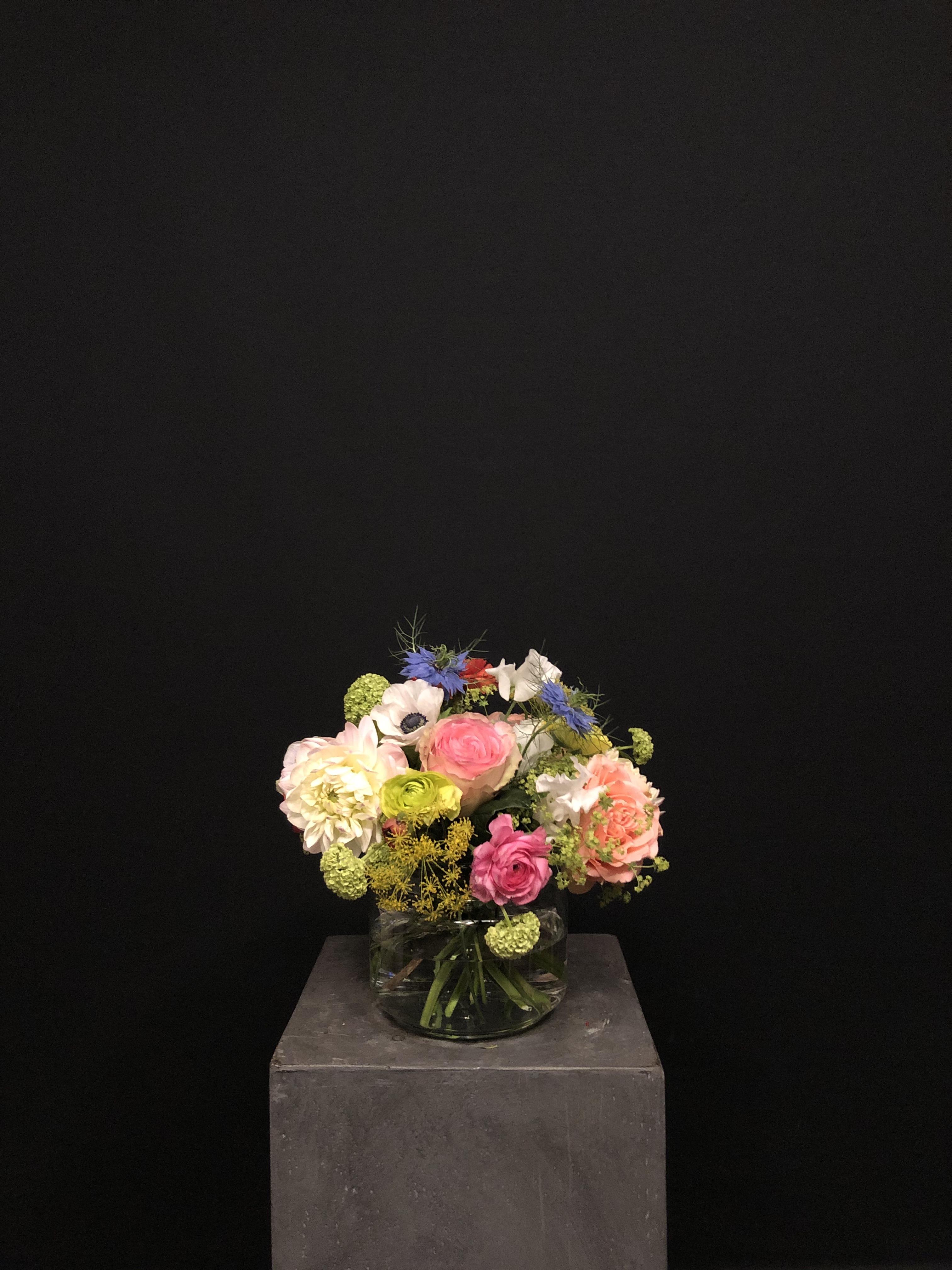 Ramo de flores con Jarrón S