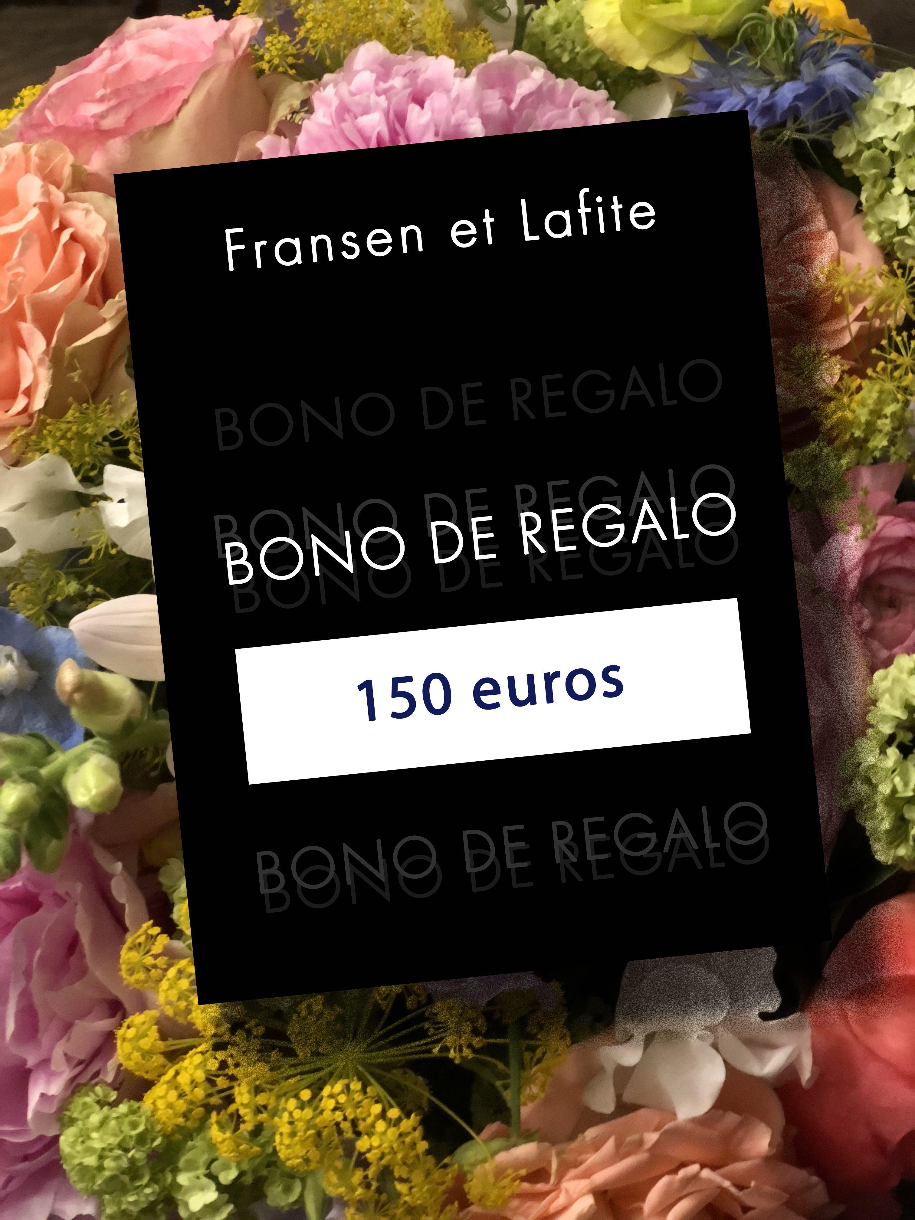 Bono regalo 150