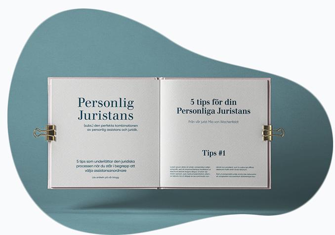En bok med juridiska texter