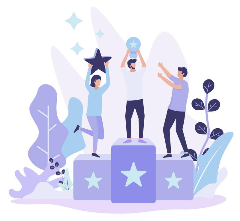 recognize team acheivements