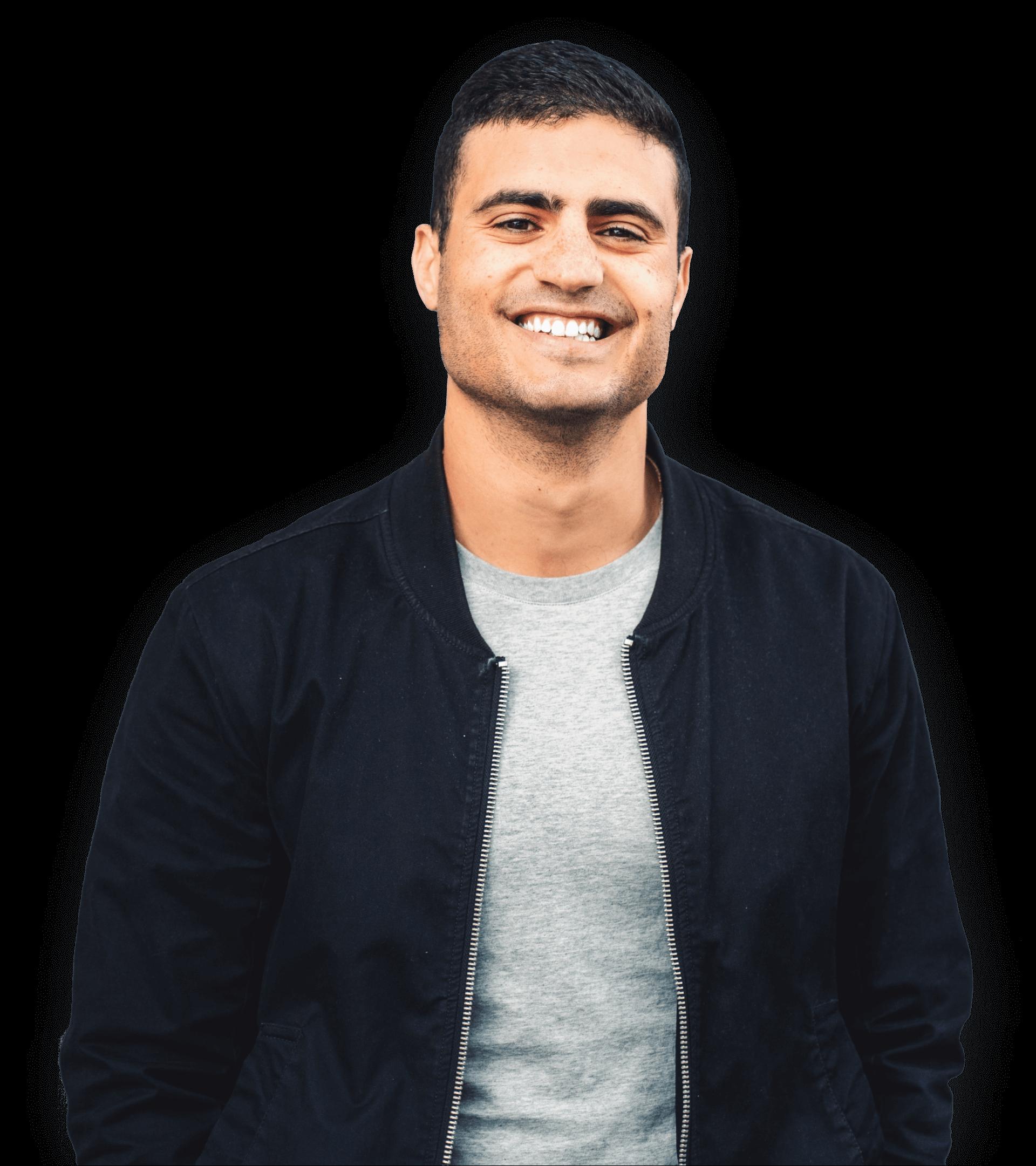 Portrait photo of co-founder Dan