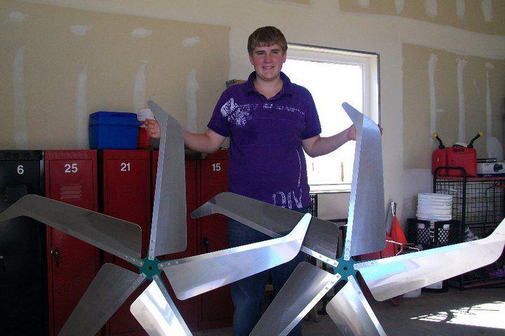 Jacob Harmon Wind Turbine Blades