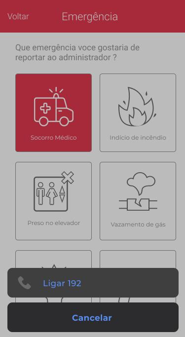 App noknox tela fazer ligação
